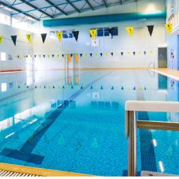 Swimming at Caterham