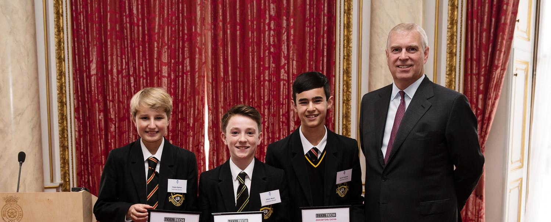 Caterham's Teen Tech National Win!