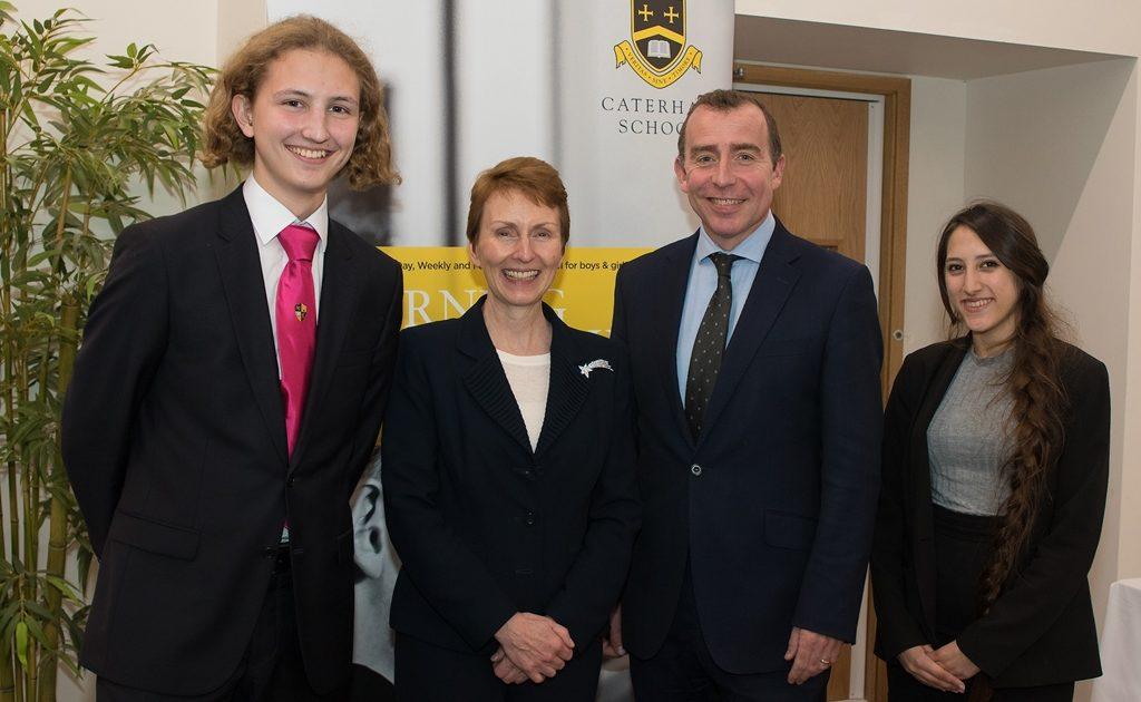 British Astronaut Visits Caterham School