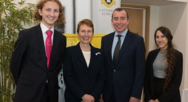 Astronaut Helen Sharman Visits Caterham School