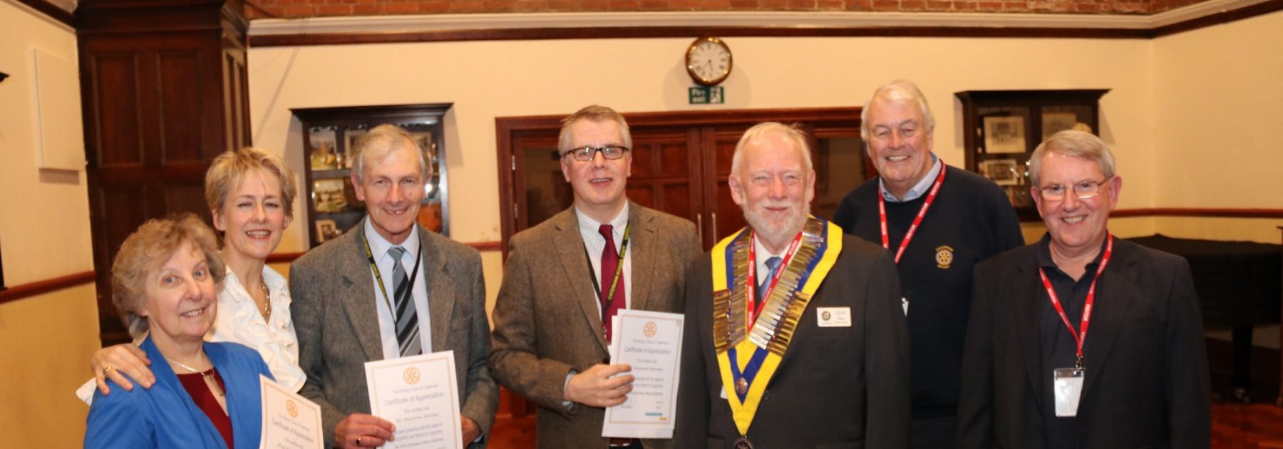 Caterham Rotary Thank You Reception
