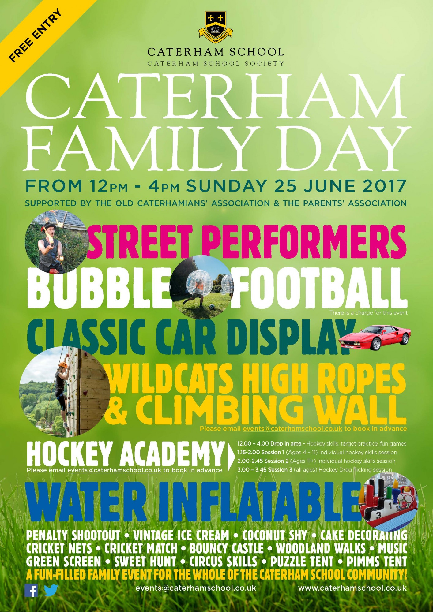 Caterham Family Fun Day Caterham School