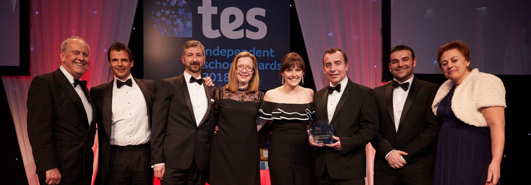 TES Award Winner!