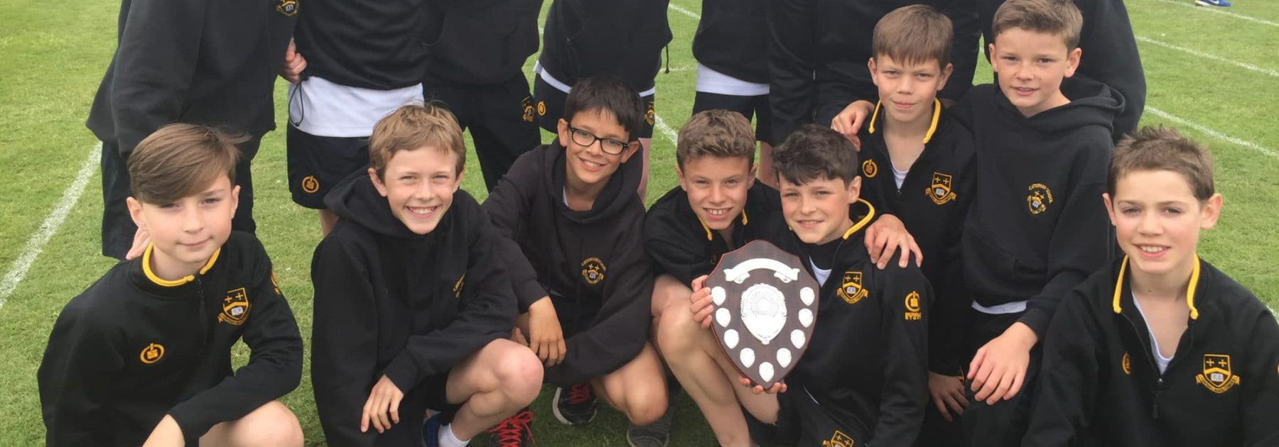 Caterham First Year Girls district Runners-Up; Boys crowned District Champions