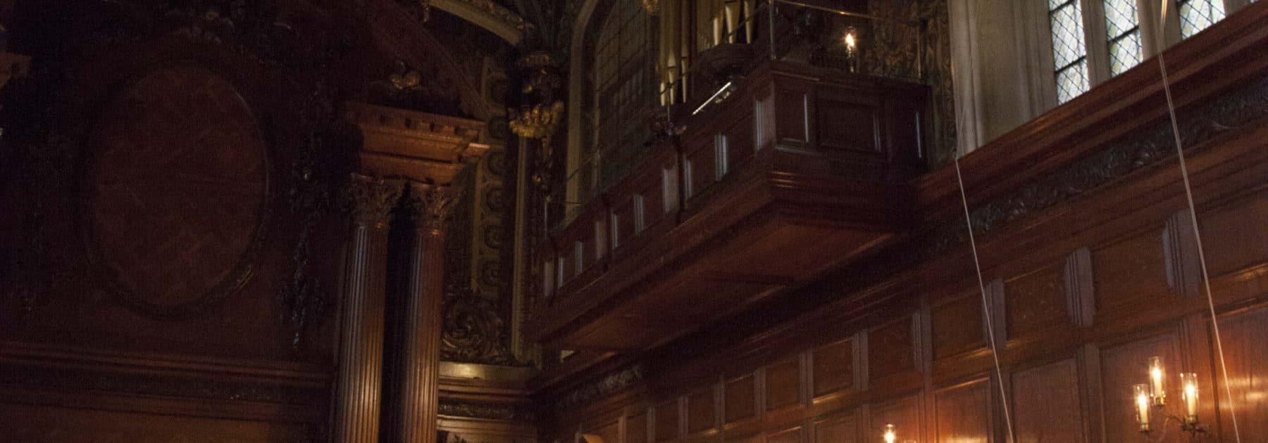 Evensong at Chapel Royal Hampton Court