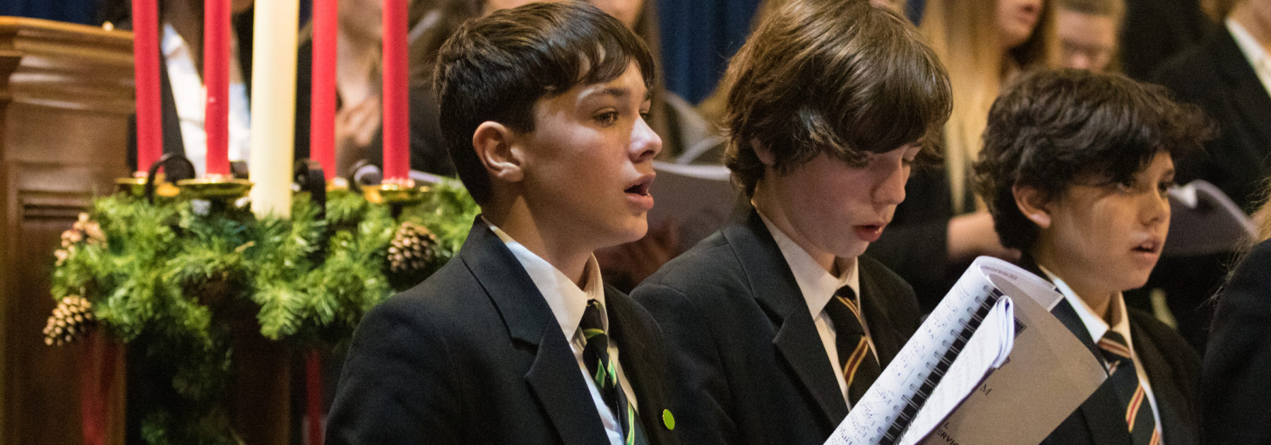 Carol Service Concludes Autumn Term